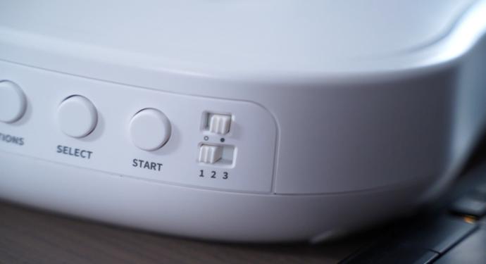 select, start buttons