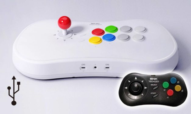 The Return of the Arcade Game Stick!