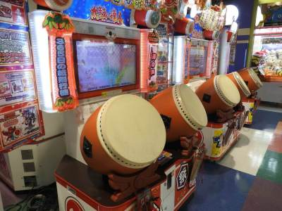 japan arcade game machines