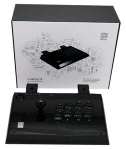 Qanba Carbon Fighting Stick for PC and PlayStation 3 (Joystick)