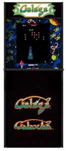 Arcade1Up Galaga - Classic 2-In-1 Game Home Arcade, 4Ft