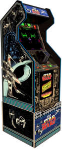 Arcade1Up Arcade1Up Star Wars Home Arcade Machine, 3 Games in 1, 4 Foot Cabinet with 1 Foot Riser