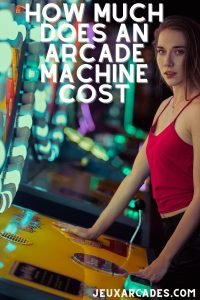 how much does an arcade machine cost